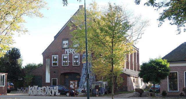 Metaal Kathedraal vestigt zich in het toekomstig Rijnvliet